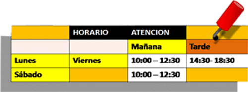 ArteMetal-horario500