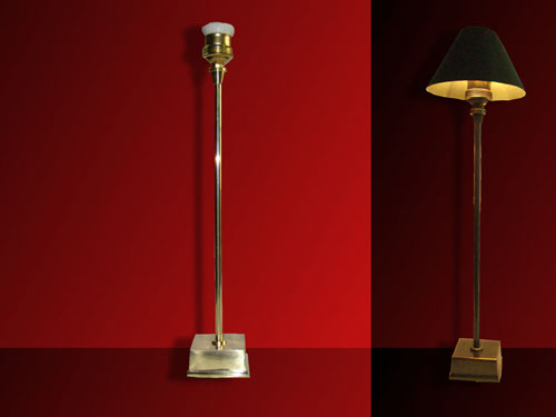 lámparas sobre mesa