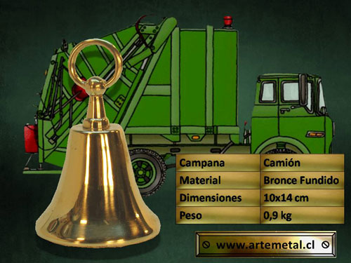 Campana-bronce-camion