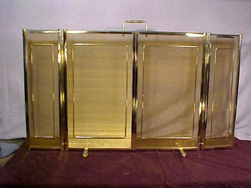 Chispero de bronce de tres cuerpos de gran tamaño