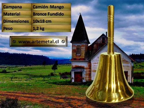 campana-bronce-camion-mango